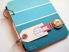 """Upcycled """"Junk"""" Journal/Mini Album by artfulmemories, via Flickr"""