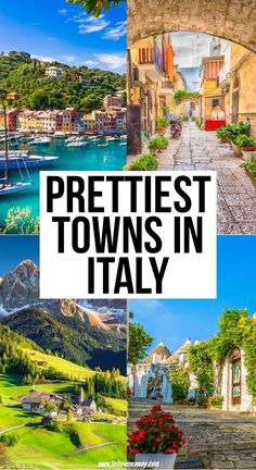Although Italy is known for its big cities, there are many small towns in Italy that are well worth a visit. Here are the prettiest small towns to see. 10 Prettiest Towns In Italu Vacation Places, Italy Vacation, Vacation Spots, Places To Travel, Places To Visit, Honeymoon Places, Vacations, Cities In Italy, Italy Travel Tips