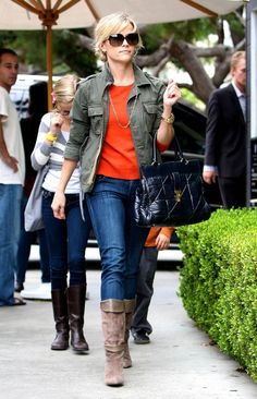 Image result for reese witherspoon green jacket