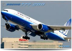 777-200, United Airlines
