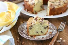 Southern Pecan Pound Cake - The Country Cook