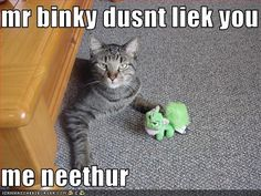 mr binky dusnt liek you