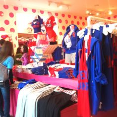 Yep! Texas Rangers stuff at Victoria's Secret! I dropped a pretty penny on a good amount of stuff :) HelloClover