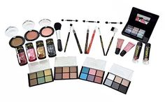 Lady De By Cameo Collection Carry All Trunk Makeup Kit with Reusable Aluminum Case Exclusive Holiday Gift Set -- Click image to review more details.