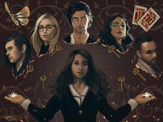 Magicians Fanart Entry by Colorpalette-art on DeviantArt The Magicians Quentin, The Magicians Syfy, Magician Art, Magic Magic Magic, Sarah J Maas, Witch Art, Sci Fi Fantasy, Music Tv, Anime Comics
