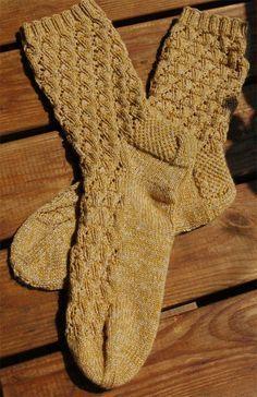 Socken Die Dünen von Tinfou - tysk oppskrift / German pattern