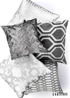 Accent pillows.