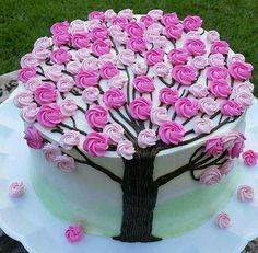 Cake Icing, Buttercream Cake, Eat Cake, Cupcake Cakes, Cupcake Frosting, Pretty Cakes, Beautiful Cakes, Amazing Cakes, Cake Decorating Techniques