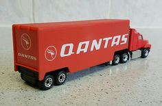 Qantas Matchbox customized convoy Ford aeromax truck