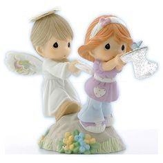 Precious Moments Figurines Held By The Hands Of Faith