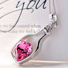 Keep my heart with you Necklace