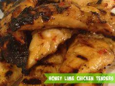 Honey Lime Chicken Tenders, from @kmcrawford4