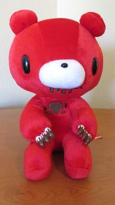 chocolate cherry red gloomy bear plush