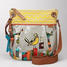 fossil bird purse...still searching for this bag.