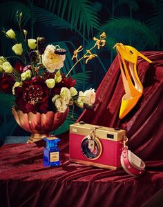 Masters Still Life Inspired Editorial New York based set designer, Sophie Leng introduced us to her latest editorials shot by Will Styer. Both are gorgeous still lifes with the first set influenced by elements of Dutch Masters still life paintings and the Dutch Still Life, Still Life Art, Vanitas, Still Life Photography, Creative Photography, Product Photography, Fashion Photography, Shoe Photography, Fantasy Photography