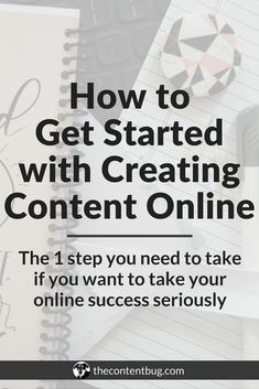 How to Get Started with Creating Content Online | So you started a blog... now what? That's a question that's been popping up in my mind recently and I wanted to provide you guys with the perfect answer. So after months of planning and creating I finally have the next step you need to take if you want to create a success online! No matter what you want to do, if you want to create a success online, then you need to master your online content writing. Sign up today for the Getting Started…