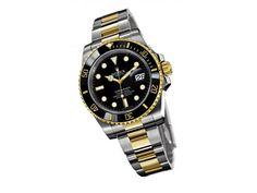 Swiss Fake Rolex Submariner Watches Asia Automatic Movement Black Dial