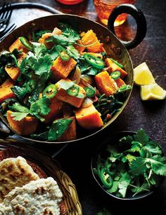 The Hairy Bikers' sweet potato saag aloo - Sainsbury's Magazine