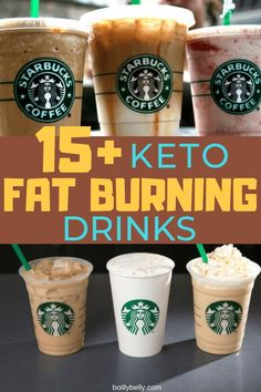 7 Keto Starbucks Drinks to Stay in Ketosis Starbucks Diy, Low Carb Starbucks Drinks, Low Carb Drinks, Starbucks Recipes, Diet Drinks, Healthy Drinks, Starbucks Coffee, Healthy Foods, Diet Foods