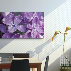 """Lilacs CA"" from our Panoramic Images Collection at at GreatBIGCanvas.com."