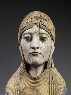 Vierge en Majesté, Paris, musée du Louvre