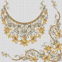 Applique Embroidery Designs, Embroidery Applique, Cross Stitch Embroidery, Cross Stitch Patterns, Japanese Sewing Patterns, American Quilt, Chart Design, Cross Stitch Flowers, Loom Beading