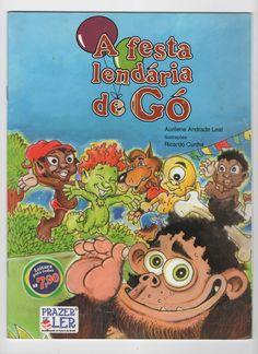 """CAPA DO LIVRO """"FESTA LENDARIA DE GÓ"""" ED. CONSTRUIR"""