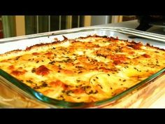 Cheesy Scalloped Potatoes Recipe - I substituted hashbrowns for this (baked the potatoes and then shredded them)
