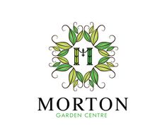 MORTON GARDEN CENTRE Logo design - This logo is ideal for a business related to: landcaping, landscape desige, garden centre,  environment, flower shop, chiropractor, medical, chiropractic, health,  healing, medical centre, yoga, physical therapy, spa, medical spa, doctor, pharmaceutical, support centre, woman's group, specialist, orthopaedic, retirement home, not for profit, therapy, sports medicine, physician, clinic, conference, medical seminar, hospice, senior care, holistic practice…