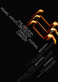 *Philadelphia Young Artists Orchestra Annual Festival Concert (May 2008 Poster)