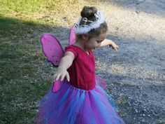 Too cute! DIY Fairy Princess Halloween Costume - Type-A Parent