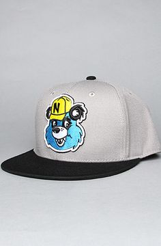 6309872eed1 The Pandaman Cap in Grey by NEFF  Karmaloop Fitted Caps