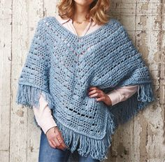 Gorgeous poncho from issue 42 of Simply Crochet