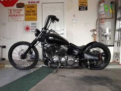 v star 650 bobber | Viendo el video quot 2003 Yamaha V Star 650 Custom Chopper Bobber Back