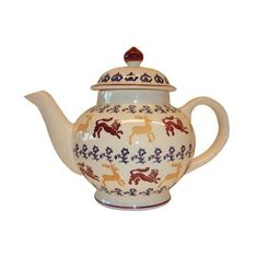 Royal Beasts Handpainted Teapot. Now only £32.47