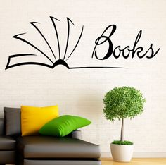 Dr Seuss Fill Your House With Stacks Of Books Vinyl Wall Decal - Vinyl wall decals books