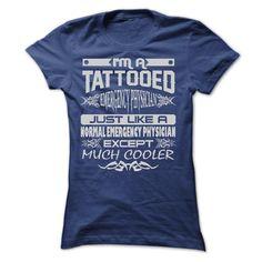 TATTOOED EMERGENCY PHYSICIAN - AMAZING T SHIRTS T Shirt, Hoodie, Sweatshirt