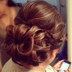 My Hair looked similar to this