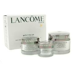 LANCOME Renergie Power Of 3 Anti-Wrinkle-Firming Program (Made in USA) 3pcs Renergie Power Of 3 Anti-Wrinkle-Firming Program: 1x Renergie Night Treatment 75g/2.5oz 1x Renergie Double Performance Treatment 50g/1.7oz 1x Renergie Specific Eye Cream 15g/0.5oz Ideal both for personal use & as a gift