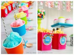 """candy birthday party ideas 