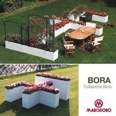#BORA Collezione Bora  Sistema di fioriere modulari  #lineagarden #marchioro