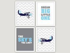 INSTANT DOWNLOAD   4 JPEGS  airplane decor baby by giraffesnstuff, $15.00