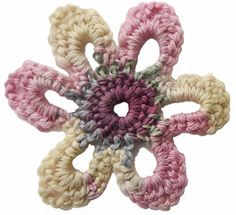 Wouldn't this be so cute to crochet intertwined--in a really soft light yarn--to wear as a light scarf?!