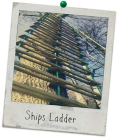 Ships Ladder, Carreg Adventure, Stouthall Country Mansion