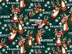 Christmas gift wrap norcross vintage