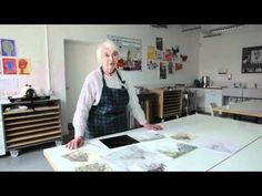 ▶ Elizabeth Blackadder: Print in Progress - YouTube  Lots of artist videos with this link to youtube