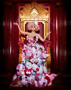 Lady Gaga by Markus Klinko and Indrani