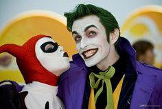 Harley Quinn & Joker Cosplay by Joker's Harley (Alyssa) and Harley's Joker (Anthony Misiano)