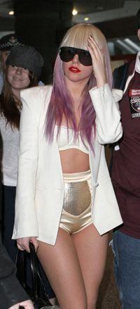 Lady Gaga Lavender Hair