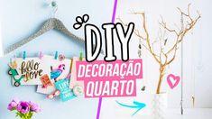 DIY DECORAÇÃO DE QUARTO FÁCIL E BARATA